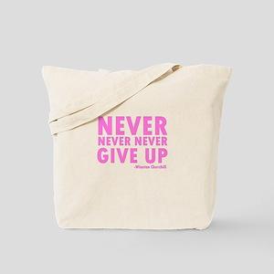 NeverGiveUp Tote Bag