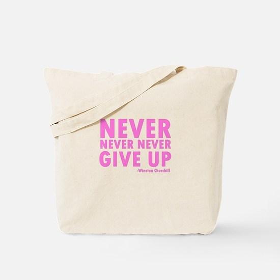 NeverGiveUp.png Tote Bag