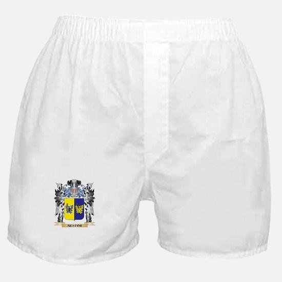 Nestor Coat of Arms - Family Crest Boxer Shorts