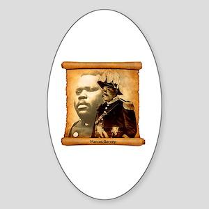 M. Garvey Sticker (Oval)