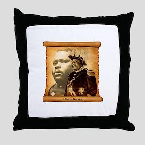 M. Garvey Throw Pillow