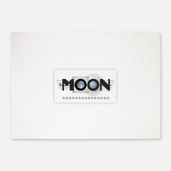 The Moon - Romance is Waiting 5'x7'Area Rug