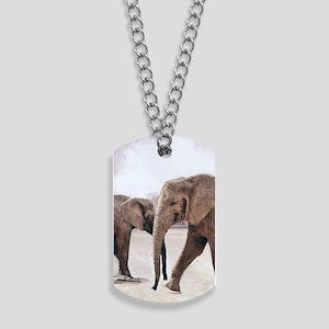 The Elephants Dog Tags