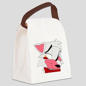 Foxy's Fox Canvas Lunch Bag