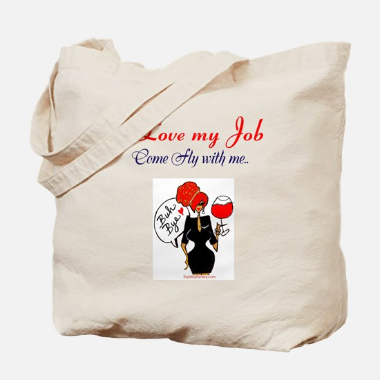 Flight Attendant Tote Tote Bag