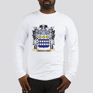Nicholson Coat of Arms - Fami Long Sleeve T-Shirt