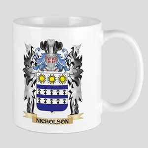 Nicholson Coat of Arms - Family Crest Mugs