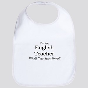 English Teacher Bib