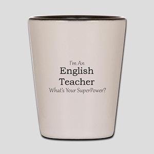 English Teacher Shot Glass