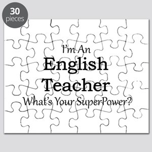 English Teacher Puzzle