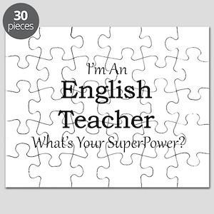 English Teacher Puzzle