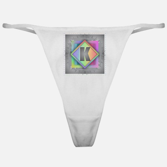 Rainbow Splash K Classic Thong