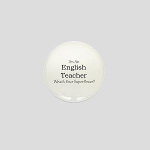 English Teacher Mini Button