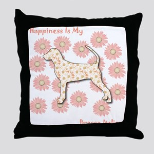Bracco Happiness Throw Pillow