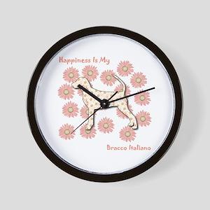 Bracco Happiness Wall Clock