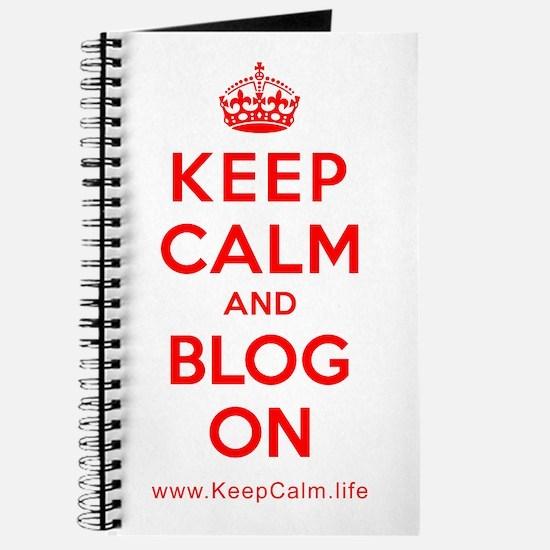 Cute Keep calm and blog Journal
