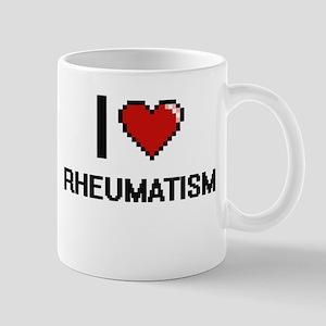 I Love Rheumatism Digital Design Mugs