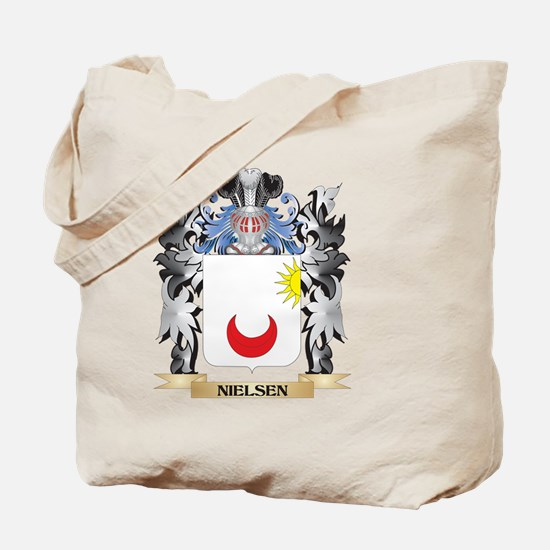 Nielsen Coat of Arms - Family Crest Tote Bag