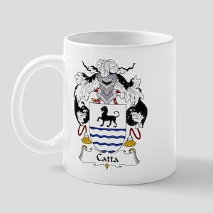 Catta Family Crest Mug