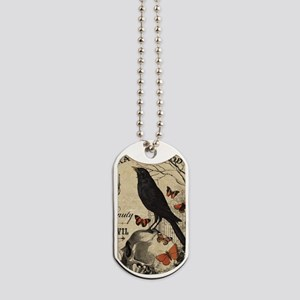 Modern vintage Halloween Dog Tags