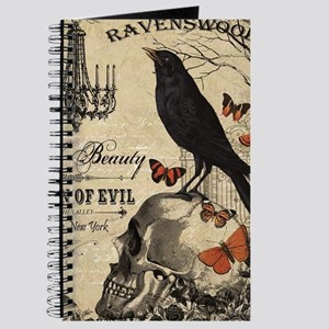 Modern vintage Halloween Journal