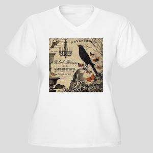 Modern vintage Halloween Plus Size T-Shirt