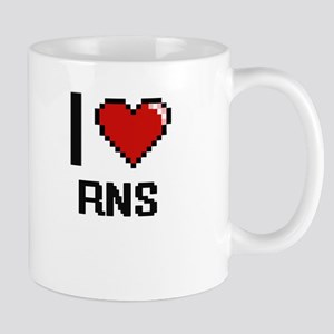 I Love Rns Digital Design Mugs
