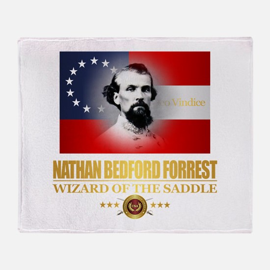 Forrest (DV) Throw Blanket