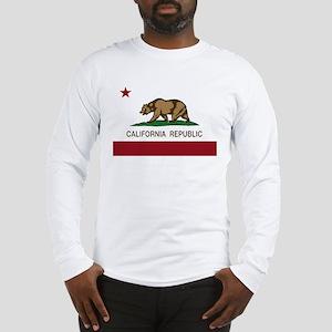 California Republic bear Long Sleeve T-Shirt