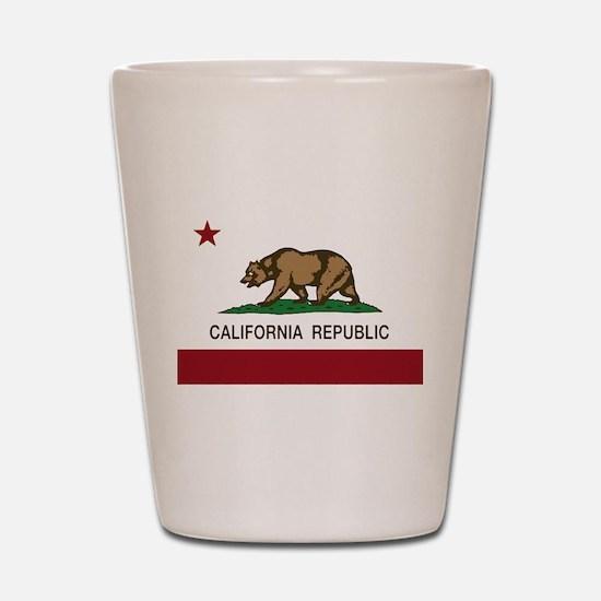 California Republic bear Shot Glass