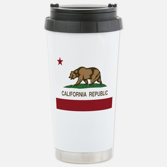 California Republic bea Stainless Steel Travel Mug