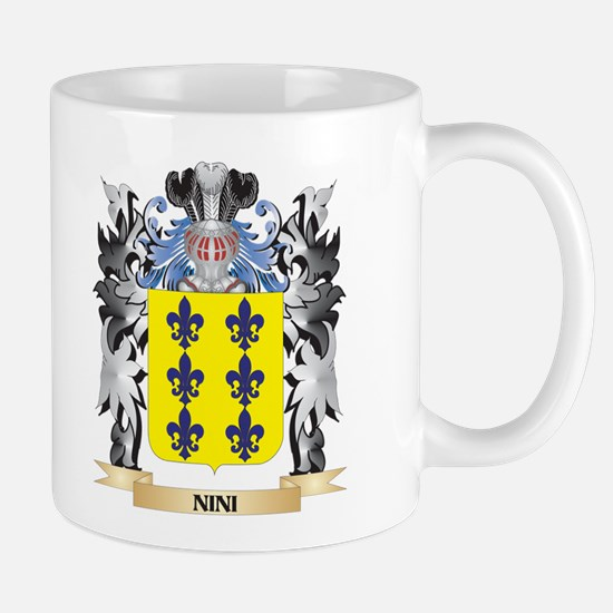 Nini Coat of Arms - Family Crest Mugs