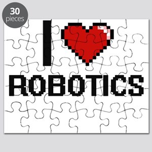 I Love Robotics Digital Design Puzzle
