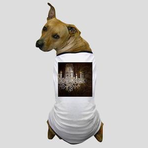 shabby chic vintage chandelier Dog T-Shirt