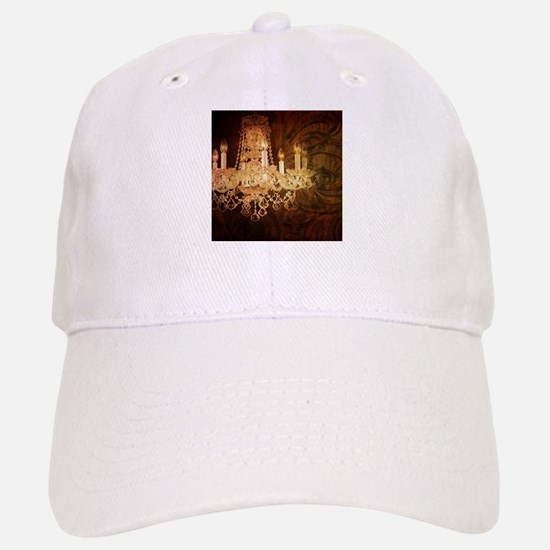 western country vintage chandelier Baseball Baseball Cap