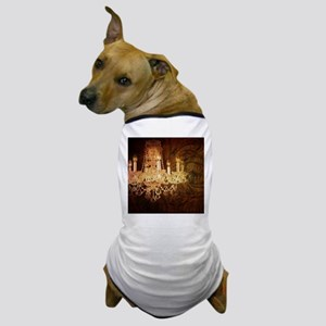 western country vintage chandelier Dog T-Shirt
