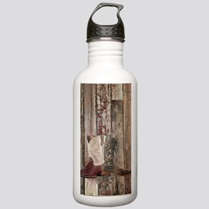 vintage western countr Stainless Water Bottle 1.0L