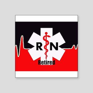 Retired Nurse Sticker