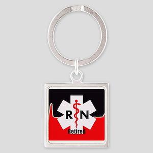 Retired Nurse Keychains