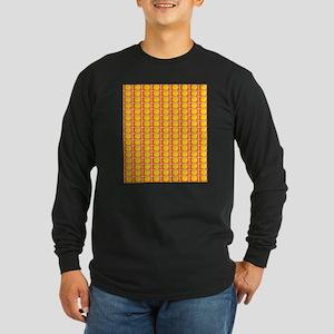Tennis Ball Orange Artsy Fred' Long Sleeve T-Shirt