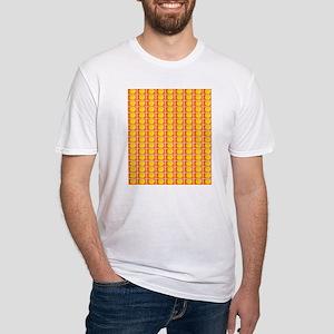 Tennis Ball Orange Artsy Fred's Fave T-Shirt