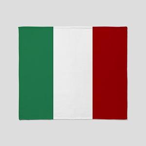 Italian Flag Throw Blanket