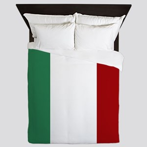 Italian Flag Queen Duvet