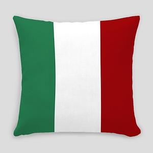 Italian Flag Everyday Pillow