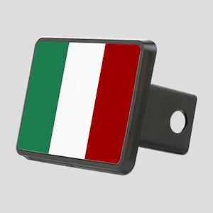 Italian Flag Rectangular Hitch Cover