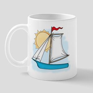 Summer Sailboat Mug