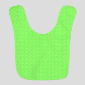 Plain lime Green Bib