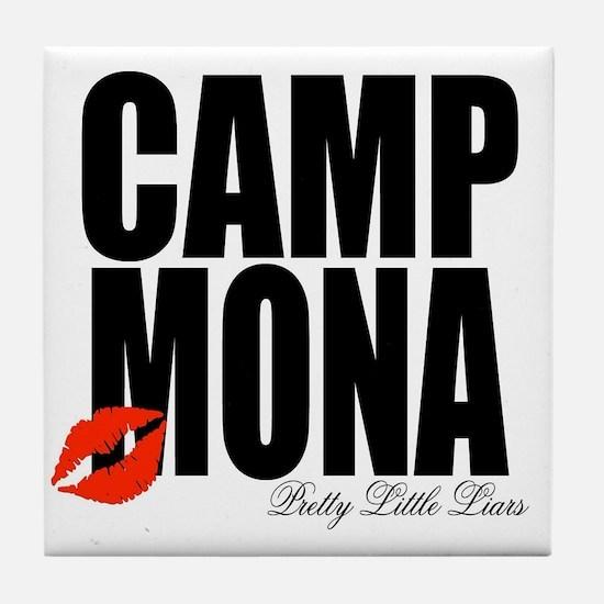 Camp Mona Kiss Tile Coaster
