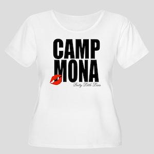 Camp Mona Kis Women's Plus Size Scoop Neck T-Shirt