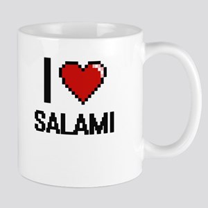 I Love Salami Digital Design Mugs